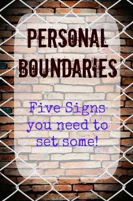Do You Need to Set Personal Boundaries?