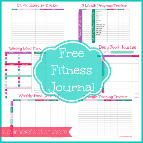 Free Fitness Journal