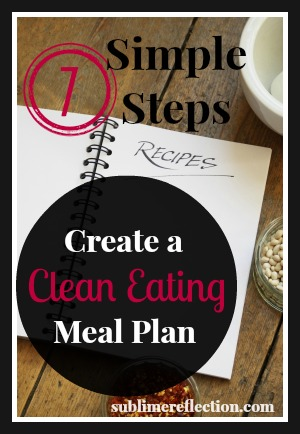 Seven Steps to Create a Clean Eating Meal Plan