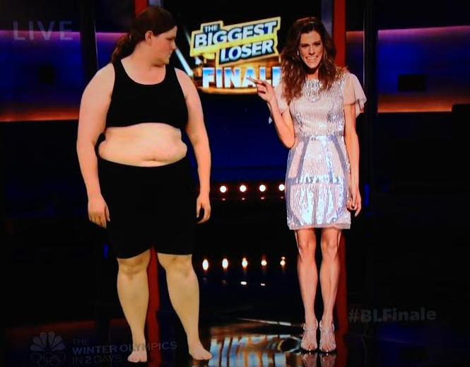 Rachel Biggest Loser Finale