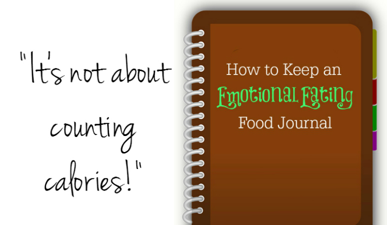 How to Keep an Emotional Eating Food Journal {Download}