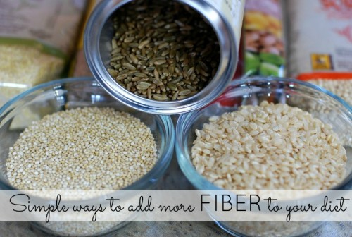 Simple ways to add more fiber to your diet