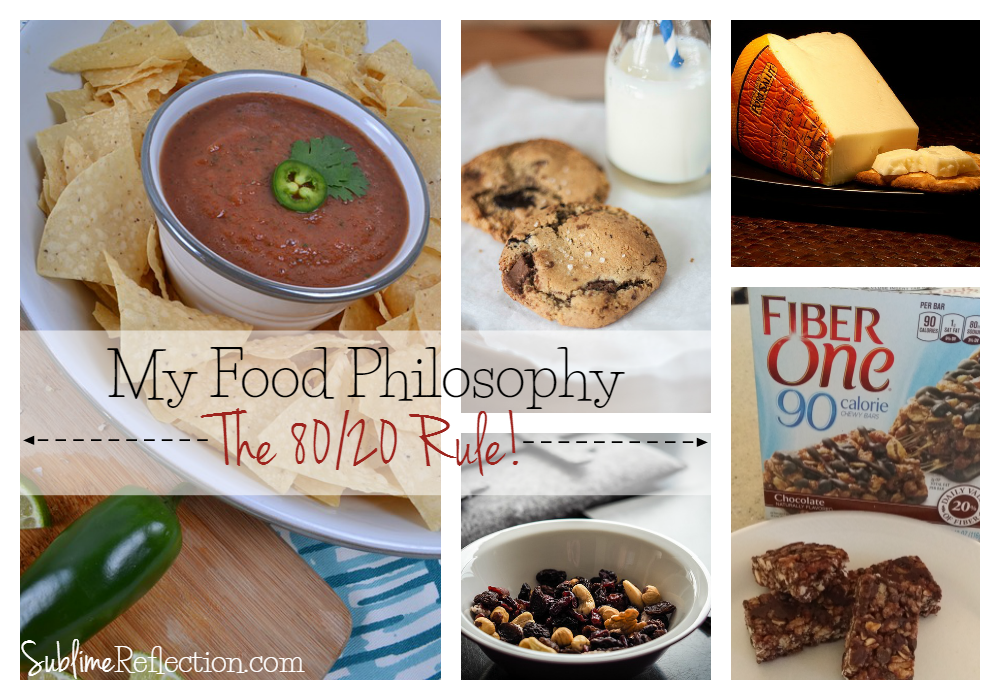 My Food Philosophy – The 80/20 Rule
