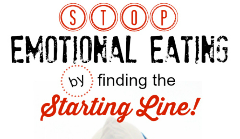 Stop Emotional Eating by Finding the Starting Line