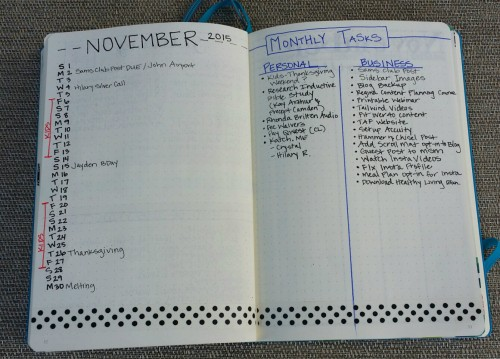 Bullet Journal Tips
