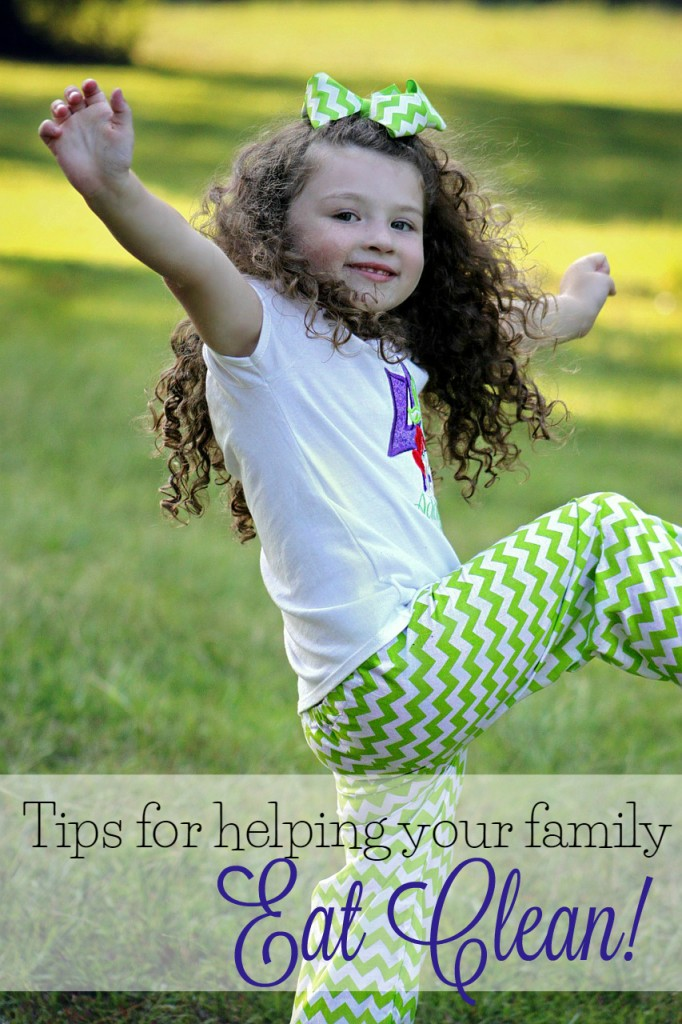 Tips for helping your family eat clean.