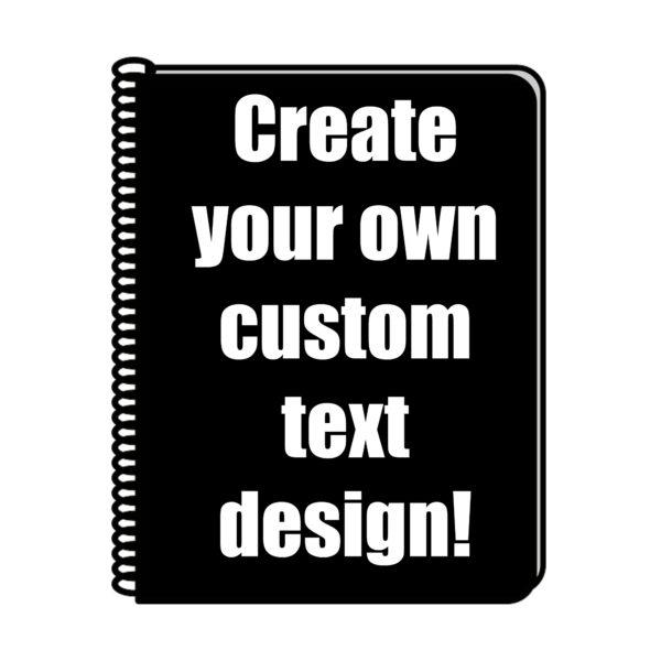 Custom Bullet Journal Text Design