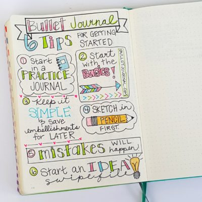 Bullet Journal 101 – Everything you need to know to get started
