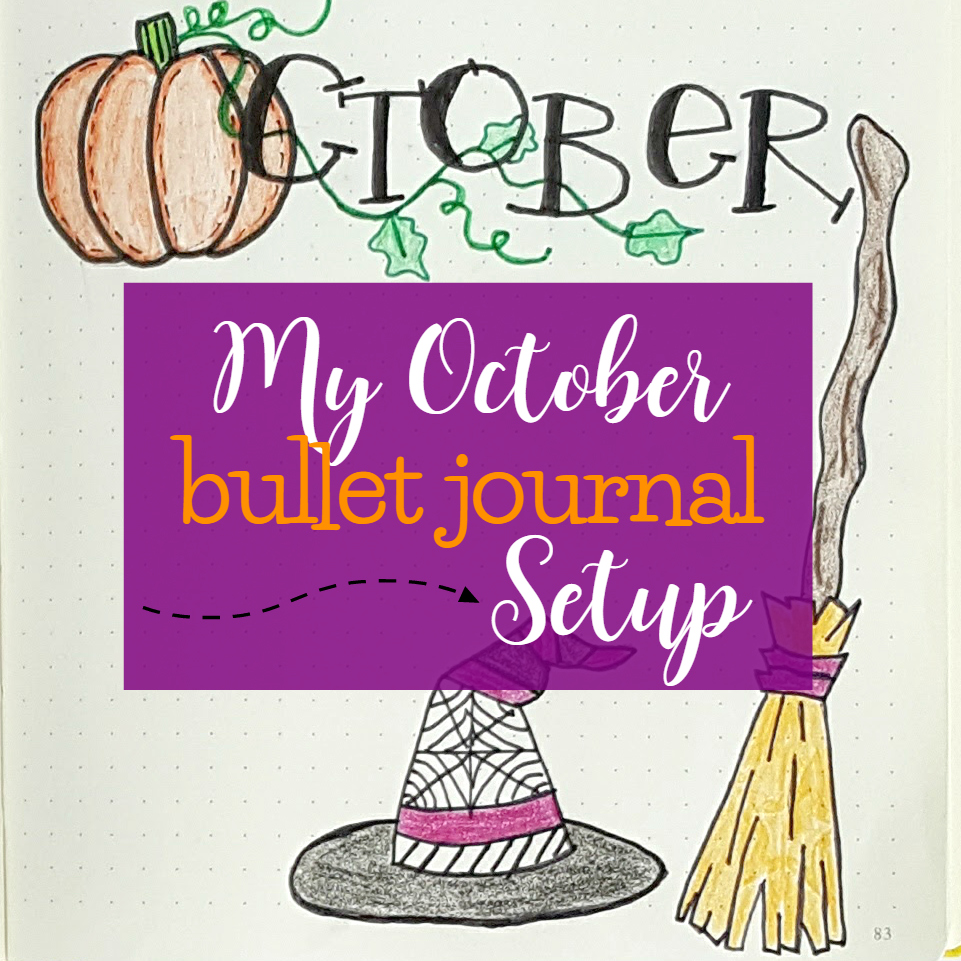 Plan with Me!  My October Bullet Journal Setup