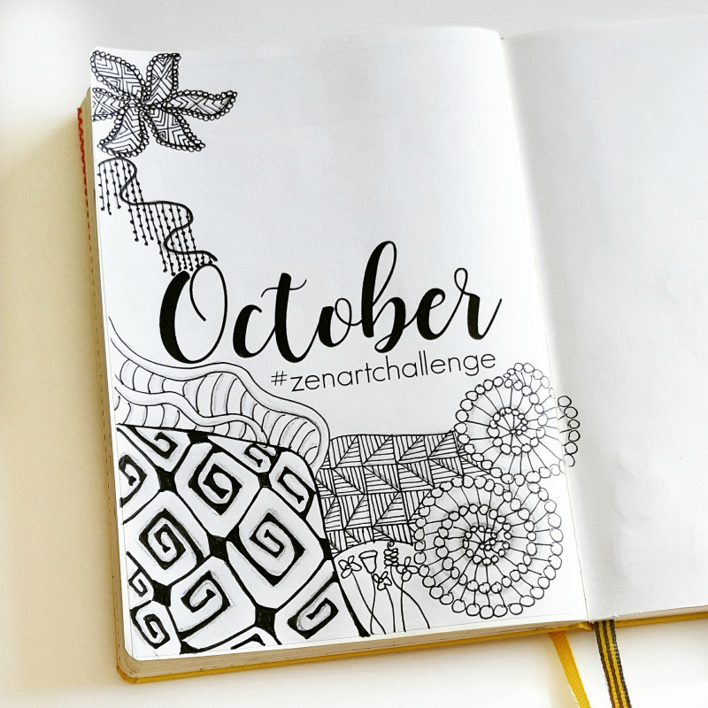My Bullet Journal setup for October!