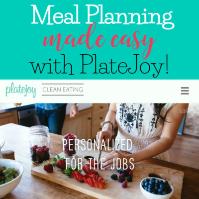 Meal planning made easy with PlateJoy!