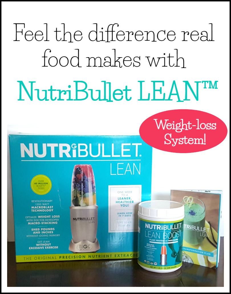 Simple weight-loss with the NutriBullet LEAN™ 7-day transformation plan!
