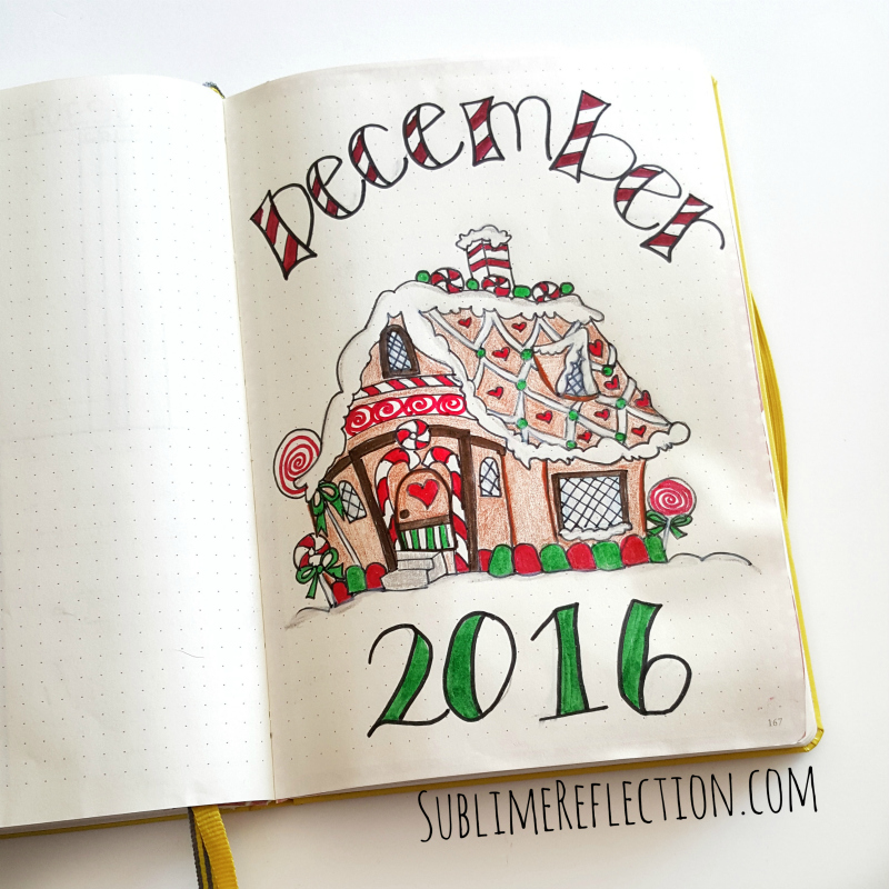 December 2016 Bullet Journal Setup – Plan with Me!