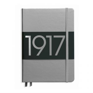 100th Anniversary Leuchtturm Metallic Notebook - Silver