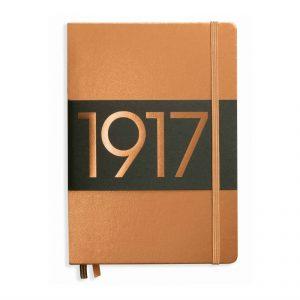 100th Anniversary Leuchtturm Metallic Notebook - Copper