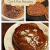 Gluten-free Pumpkin Oat & Flax Pancakes