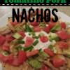 Crockpot Tomatillo Pork Nachos