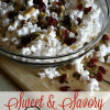 Sweet & Savory Popcorn Trail Mix