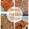 Sweet or Savory Baked Sweet Potato Chips