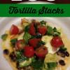 Egg Tortilla Stacks & Avocado Lime Salsa