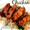 Orange Chipotle Chicken with Cilantro Lime Rice