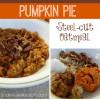 Pumpkin Pie Steel-Cut Oatmeal