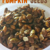 Sweet & Savory Pumpkin Seeds {Recipe Redux}