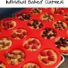 Individual Baked Oatmeal
