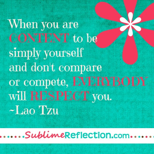 6 Steps To Stop Comparing Yourself To Others By Sublime Reflection