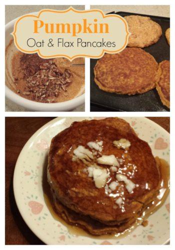 Gluten-free Pumpkin Pancakes