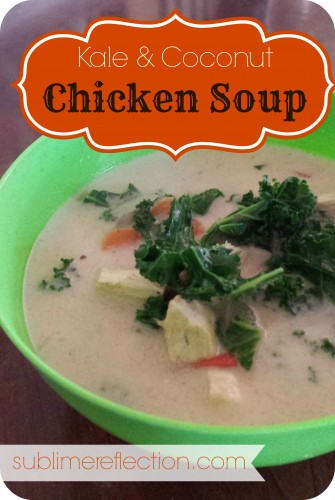 Kale and Coconut Chicken Soup