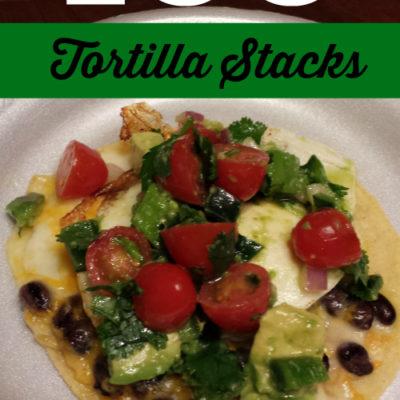 Egg Tortilla Stacks