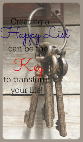 Creating a Happy List