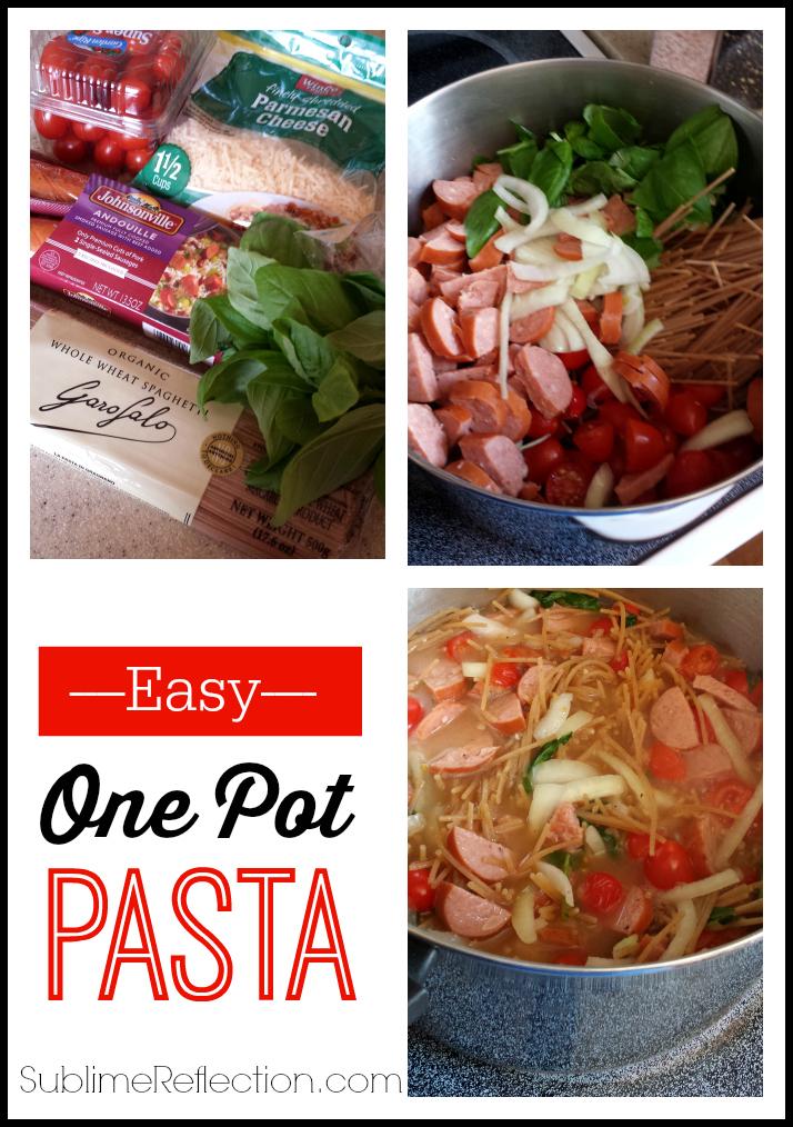 Easy One Pot Pasta