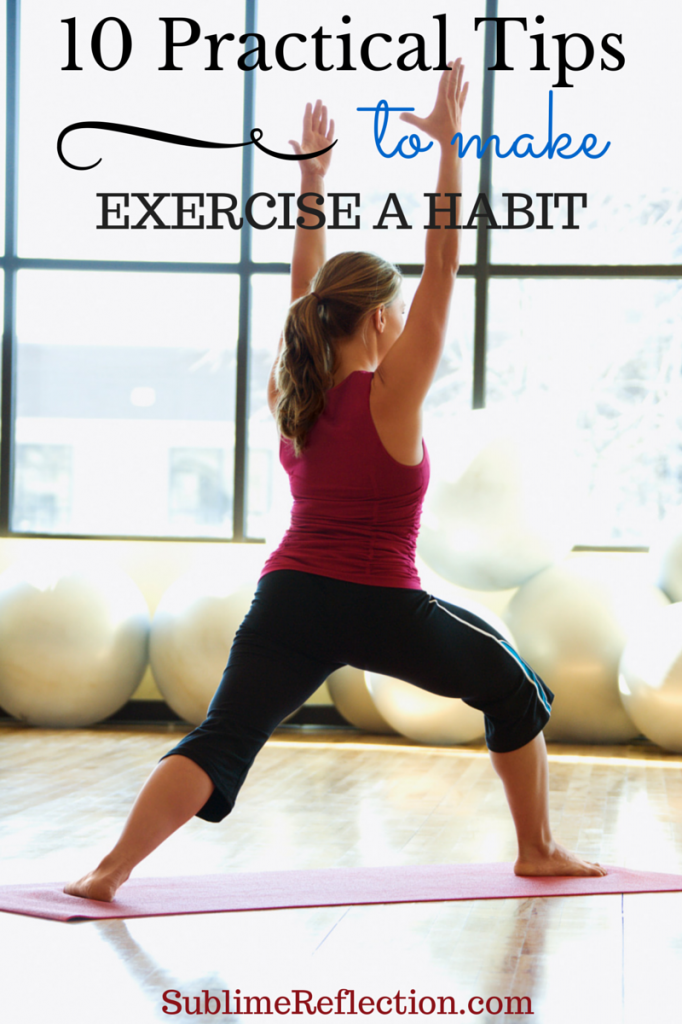 10 Practical Tips to Make Exercise a Habit