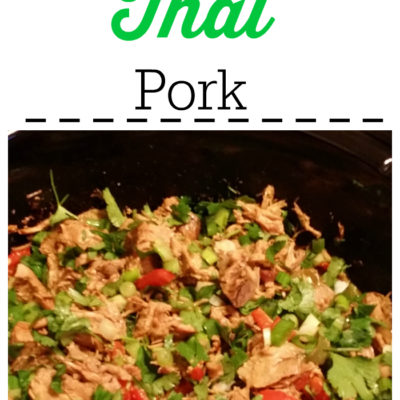 Crockpot Thai Pork