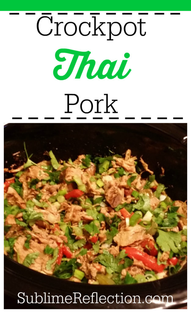 Crockpot Thai Pork
