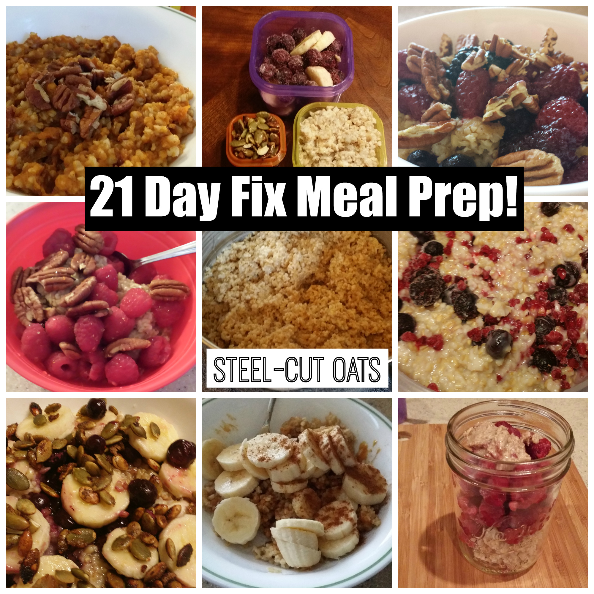 Steel-cut Oats — Meal Prep Idea