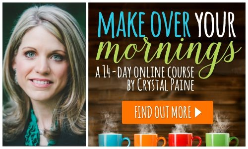 Make Over Your Mornings