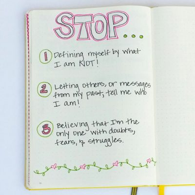 3 things you should stop doing to be who you truly are!