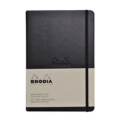 This Rhodia Webnotebook is perfect for Bullet Journaling! High quality paper that doesn't bleed through!